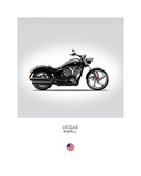 Victory Vegas 8 Ball Giclee Print by Mark Rogan