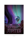 Experience The Mighty Auroras Giclée-tryk af JPL