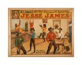 Jesse James Giclee Print
