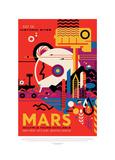 Mars Giclée-tryk af JPL