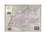 Kentucky & Tennessee Giclee Print by Dan Sproul