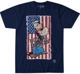 Popeye- All American Stamp T-skjorte