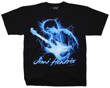 Jimi Hendrix- Midnight Lightning T-Shirts