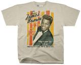 James Brown- Fabulous 18 Piece Playbill Tshirts