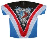 Grateful Dead- Stealie Splash V-Dye T-Shirt