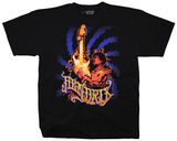Jimi Hendrix- Burning Desire Shirts