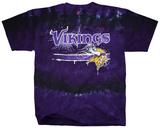 NFL: Minnesota Vikings- Horizontal Stencil T-skjorter