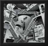 Relativité Posters par M. C. Escher