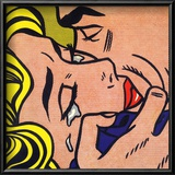 Kiss V, 1964 Prints by Roy Lichtenstein