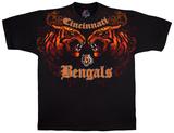 NFL: Cincinnati Bengals- Face Off T-skjorter