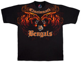 NFL: Cincinnati Bengals- Face Off Shirts