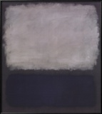Blue & Gray, 1961 Art by Mark Rothko