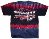NFL: Atlanta Falcons- Horizontal Stencil Skjorte