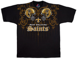 NFL: New Orleans Saints- Face Off T-shirts