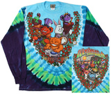 Long Sleeve: Grateful Dead- Wonderland Jamband (Front/Back) Long Sleeves