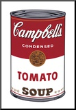 Campbell's Soup I: Tomato, c.1968 Mounted Print by Andy Warhol