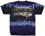 NFL: Baltimore Ravens- Horizontal Stencil T-Shirt