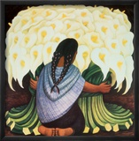 The Flower Seller, c.1942 Arte por Rivera, Diego