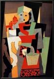 L'Italienne, c.1917 Láminas por Pablo Picasso