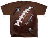 NFL: Oakland Raiders- Kickoff T-skjorter