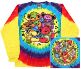 Long Sleeve: Grateful Dead- Big River Jamboree (Front/Back) Long Sleeves