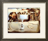 Apparition of a Face and Fruit Dish on a Beach, c.1938 Posters av Salvador Dalí