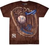 MLB: New York Yankees- Logo Glove T-Shirts
