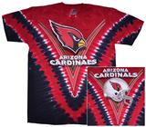 NFL: Arizona Cardinals- V-Dye (Front/Back) T-skjorter