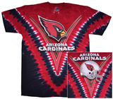 NFL: Arizona Cardinals- V-Dye (Front/Back) T-shirts