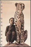 Child with Cheetah, Mexico Monteret tryk af Gregory Colbert