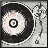 Vintage Analog Record Player Prints by Michael Mullan