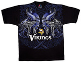 NFL: Minnesota Vikings- Face Off T-skjorter