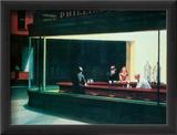 Nighthawks, Noctambules ou Les oiseaux de nuit, 1942 Affiches par Edward Hopper