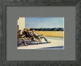 Gens au soleil, 1960 Affiches par Edward Hopper