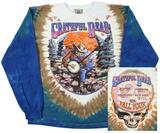 Long Sleeve: Grateful Dead- Banjo (Front/Back) T-skjorter