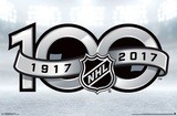 NHL- 100th Season Poster