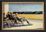 Gens au soleil, 1960 Posters par Edward Hopper