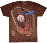 MLB: Boston Red Sox- Logo Glove T-shirts