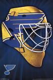 St. Louis Blues- Mask 17 Pôsters