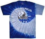 NFL: Indianapolis Colts- Tight Spiral T-skjorter