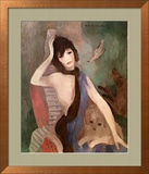 Portrait of Mlle. Chanel Poster av Marie Laurencin
