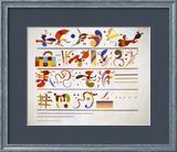Succession, c.1935 Konst av Wassily Kandinsky