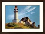 Lighthouse at Two Lights Art par Edward Hopper