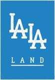 LALA Land Blues Poster