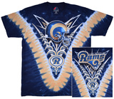 NFL: La Rams- V-Dye (Front/Back) Tshirts