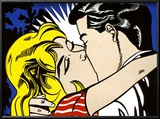 Kiss II, c.1962 Art by Roy Lichtenstein