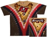 NFL: Tampa Bay Buccaneers- V-Dye (Front/Back) T-skjorter