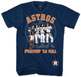 MLB: Kiss- Houston Astros Dressed To Kill Skjorter