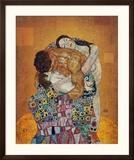 La familia Láminas por Gustav Klimt