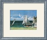 Lee Shore, Cape Cod, 1941 : paysage marin Posters par Edward Hopper